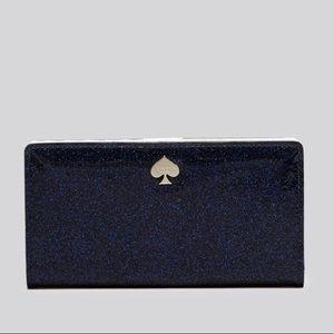 Kate spade glitter bug Stacy wallet